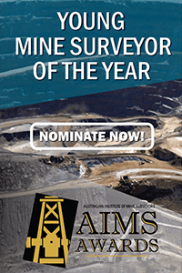 AIMS AWARDS - Young Mine Surveyor of the Year