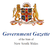 government gazette nsw