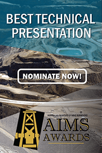 AIMS AWARDS - Best Technical Presentation Award