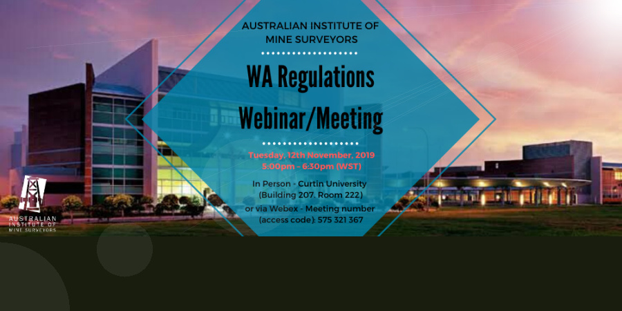 WA Regulations Webinar/Meeting - Register Now