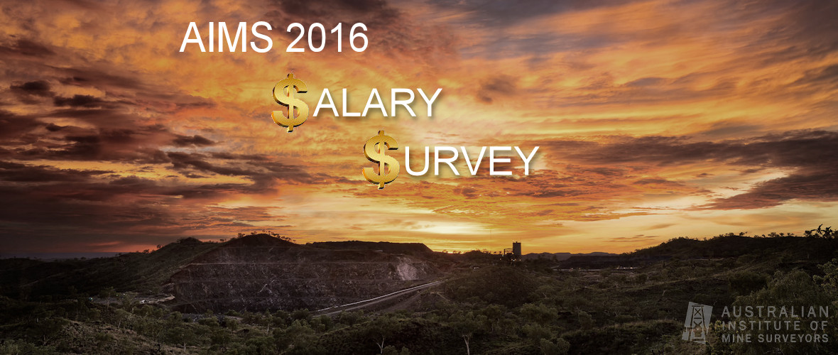 AIMS 2016 Salary Survey - Extended until 9th December!