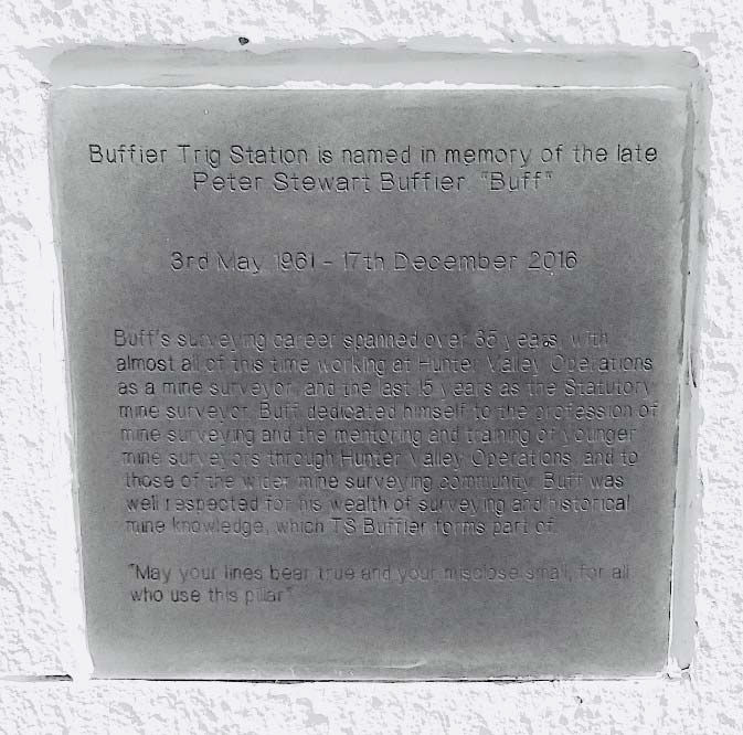 buffier trig plaque