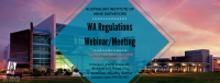 WA Regulations Webinar/Meeting
